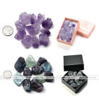10pcs Irregular Rough Amethyst Fluorite Stones Ornament Aquarium Gravels Decor