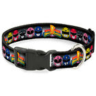 Power Rangers Live Action TV Series Heads Repeating Clip Fun Pet Dog Cat Collar