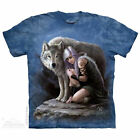WOLVEN PROTECTOR T- SHIRT   S - 5X  WOLF