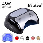 48W CCFL LED UV Lamp Nail Dryer For Gel Polish Curing Nails Dryer Automatic