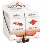 Elements aromatic/spell/Floral/Sexy Insence Insense cones Joss Cleanse  1 Pkt 15