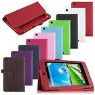 Folding Leather Case Cover Skin Stand for Acer Iconia One 7 B1-730 Book Style
