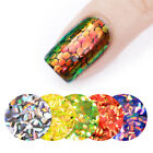 2g BORN PRETTY Nail Art Sequins Fish Scale Mermaid Hexagon Glitter Manicure Tips