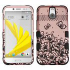 For Sprint HTC BOLT IMPACT TUFF HYBRID Protector Case Skin Phone Cover Accessory