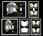 AMERICAN BALD EAGLE # 10 LIGHT SWITCH COVER PLATE