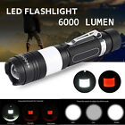 G700 X800 XML T6 LED 6000LM Military Tactical Zoomable Flashlight Torch Lamp lot