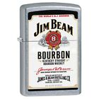 Personalised Jim Beam White Label Street Chrome Cigarette Lighter Zippo Engraved