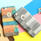 Crocodile PU Leather Cover Case for iPhone 6 6s 7 plus 5 5S Ultra Slim Hard PC