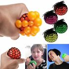 6cm Anti Stress Face Reliever Grape Mesh Ball Autism Mood Squeeze Relief Toy