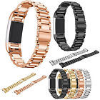 New Stainless Steel Metal Watch Band Wrist Strap For Fitbit Charge 2