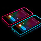 Incoming Call LED Lights UP Frame Phone Hard Case Cover  For Phones 1pcs