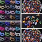 Wholesale 100pcs 3mm Teardrop Faceted Crystal Glass Loose Spacer Beads Jewelry