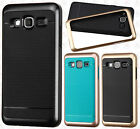 For Samsung Galaxy On5 Frame HYBRID HARD Case Rubber Phone Cover Accessory