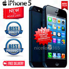 Apple iPhone 5 /iPhone 4s 4G Smartphone - 16 32 64GB Unlocked Black/White! GF55