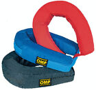 ID/787 OMP RACING PADDED NECK SUPPORT COLLAR IN NOMEX ADULT ONE SIZE - 3 COLOURS