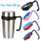 2 PCS 20 oz Handle for RTIC Yeti Ozark Trail Rambler Tumbler Travel Cup Holder