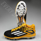 Adidas Power Alley 3 TPU Baseball Cleats S84755-Black/White/Gold(NEW)Lists @ $60