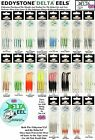DELTA EEL ORIGINAL FISHING LURES PK4 VARIOUS COLOURS AVAILABLE 50mm OR 65mm