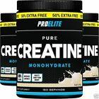 500G + 250G = 750G / 150 SERVINGS PRO ELITE CREATINE Monohydrate Energy & Growth