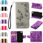 For iPhone 7 7 Plus Butterfly Pattern Flip Wallet Case PU Leather Cover Skin