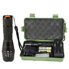 PROBE SHINY X800 LED XML-T6 Zoomable Tactical Flashlight Torch Lamp 18650 AAA