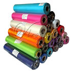 5 Rolls 25m x 28cm Sheer Organza Roll Wedding Chair Sash Bow Table Runner Swag
