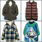 Boys Gymboree Disney Outerwear Jacket Sweater Vest 5pcs Lot Size M 7 8