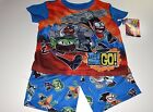 New Teen Titans pajamas 2 piece set boys sizes XS S M L  Teen Titans pajamas