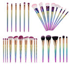 Pro 10pcs Kabuki Make up Brushes Set Makeup Foundation Blusher Powder Brush Gift