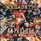 "2CD MEGADETH ""ANTHOLOGY SET THE WORLD AFIRE"". Nuovo sigillato"