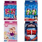 Childrens Kids Disney Pair Inflatable Armbands Swimming Aids Marvel Floats Fun
