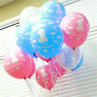 20pcs/lots Baby 1st First Happy Birthday Clouds Latex Balloon Party Favor Supply