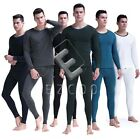 Fashion Fleece Men Winter Warm Long Sleeve&Long Johns Thermal Underwear Set  HC