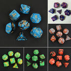 7pcs/Set TRPG Games Dungeons & Dragons D4-D20 Multi-sided Dices Toy