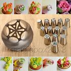 Cool Tulip Rose Flower Cake Decorating Icing Piping Nozzles Tips Baking Tools