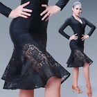 Внешний вид - New Adult Lace Mermaid Latin Dance Fishtail Skirts Rumba Cha Cha Sumba Ballroom