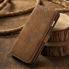 Vintage Leather Magnetic Flip Card Wallet Cover Case For Samsung Galaxy S8 Plus