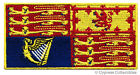 QUEEN ELIZABETH II ROYAL STANDARD FLAG PATCH UK GREAT BRITAIN ENGLAND SOVEREIGN
