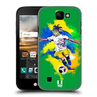 HEAD CASE DESIGNS FOOTBALL SPLASH HARD BACK CASE FOR LG K3