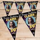 Personalised 18th 21st 30th 40th 50th Happy Birthday Flag Banner Bunting N73