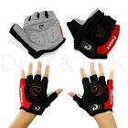 Sports Racing Cycling Motorcycle MTB Bike Bicycle Gel Half Finger Gloves M-L-XL