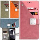 For Samsung Galaxy Note 8 Premium Front Pocket Wallet Case Pouch Phone Cover