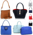 Women's Small Size Tote Shoulder Top Handbags For Women Girl 2 in 1 Bag
