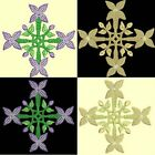 Anemone Quilt Squares 1-DESIGN 4-an Anemone Machine Embroidery single in 4 sizes