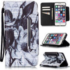 For Samsung Galaxy Series Phone / Apple iPhone all Flip Leather Card Holder Case