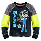 DISNEY STORE MILES FROM TOMORROWLAND LONG SLEEVE TEE T-SHIRT BOYS NWT NEON