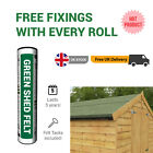 Premium Green Mineral Shed Roofing Felt