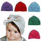Baby Hats Soft Cute Blue Rabbit ears Cotton Unisex Daily Bow Fashion Girls AB