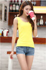 Tops & Blouses Bottoming T-shirt Women Summer Cotton Ucollar sleeveless vest