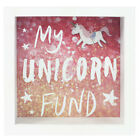 Money Box Saving Fund - Wooden Shadow Frame with Glass Front Assorted Designs